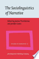 The Sociolinguistics of Narrative