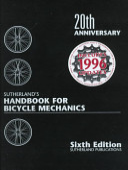 Sutherland's Handbook for Bicycle Mechanics