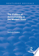 The Politics Of Accountability In The Modern State