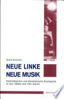 Neue Linke/Neue Musik