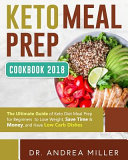 Keto Meal Prep Cookbook 2018