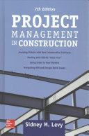 Project Management In Construction Seventh Edition