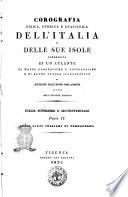 Corografia fisica, storica e statistica degli Stati sardi italiani di terraferma. -