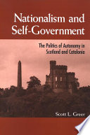 Nationalism and Self Government