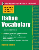 Practice Makes Perfect Italian Vocabulary