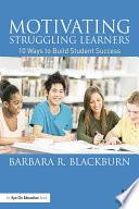 Motivating Struggling Learners book
