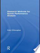 Research Methods for Sports Performance Analysis