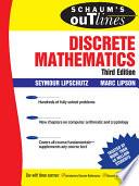 Schaum s Outline of Discrete Mathematics  3rd Ed