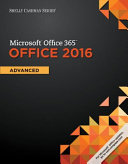 Shelly Cashman Microsoft Office 365 and Office 2016
