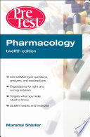 Pharmacology PreTestTM Self Assessment and Review  12th Edition