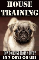 House Training a Puppy