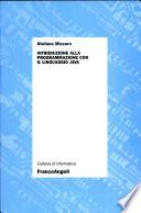 Introduzione Alla Programmazione Con Il Linguaggio Java