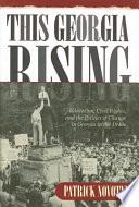 This Georgia Rising