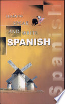 Learn to Speak and Write Spanish