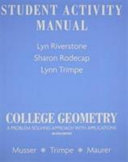 Student Activity Manual For College Geometry