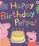 Happy Birthday  Peppa