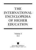 International Encyclopedia Of Higher Education book