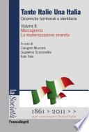 Tante Italie Una Italia  Dinamiche territoriali e identitarie  Vol  II  Mezzogiorno  La modernizzazione smarrita