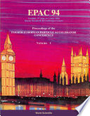 European Particle Accelerator Conference (Epac 94) (In 3 Volumes)