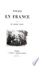 Voyage en France par Mme A. Tastu