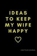 Gratitude Journal For Perfect Husband Pdf/ePub eBook