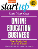 download ebook start your own online education business pdf epub