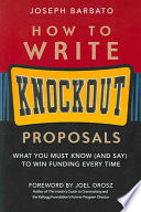 How to Write Knockout Proposals