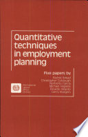 Quantitative Techniques In Employment Planning