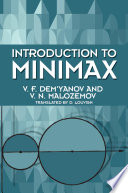 Introduction to Minimax