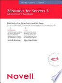 Novell Zenworks For Servers 3 Administrator S Handbook book