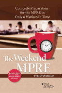 The Weekend Mpre