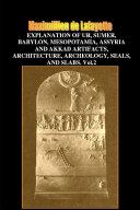 V 2 Explanation of Ur sumer babylon mesopotamia  assyria