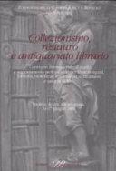 Collezionismo  restauro e antiquariato librario