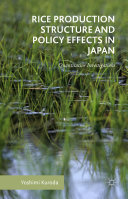 download ebook rice production structure and policy effects in japan pdf epub