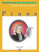Alfred's Basic Piano Library - Classic Themes Book 3
