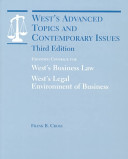 West's Advanced Topics and Contemporary Issues