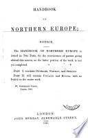 Handbook for northern Europe