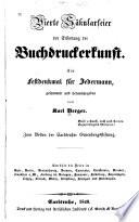 Vierte Säkularfeier der Erfindung der Buchdruckerkunst