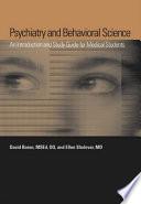 Psychiatry and Behavioral Science