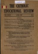 Catholic Educational Review