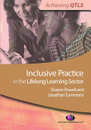 Inclusive Practice in the Lifelong Learning Sector