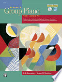 Alfred's Group Piano for Adults: Teacher's Handbook 1 (2nd Edition) Balance Of Theory Technique Sight Reading Repertoire Harmonization Improvisation