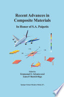 Recent Advances in Composite Materials In Honor of S.A. Paipetis