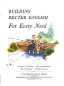Building Better English  For every need  Grade 6   teacher s manual