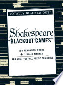 Shakespeare Blackout Games