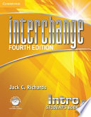 Interchange Intro Student s Book A with Self study DVD ROM