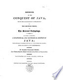 Memoir Of The Conquest Of Java