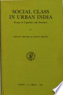 Social Class in Urban Indian