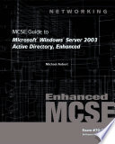 70 294 Mcse Guide To Microsoft Windows Server 2003 Active Directory Enhanced