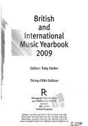 British and International Music Yearbook